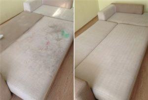 Почистить диван