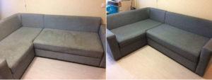 Чистить диван на дому диван