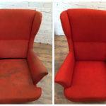 Почистить кресло