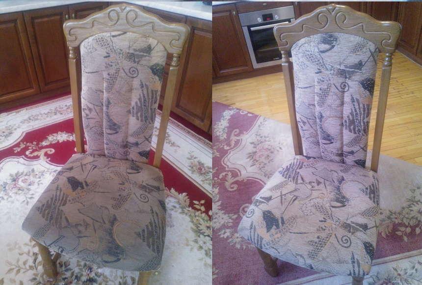 Почистить стул